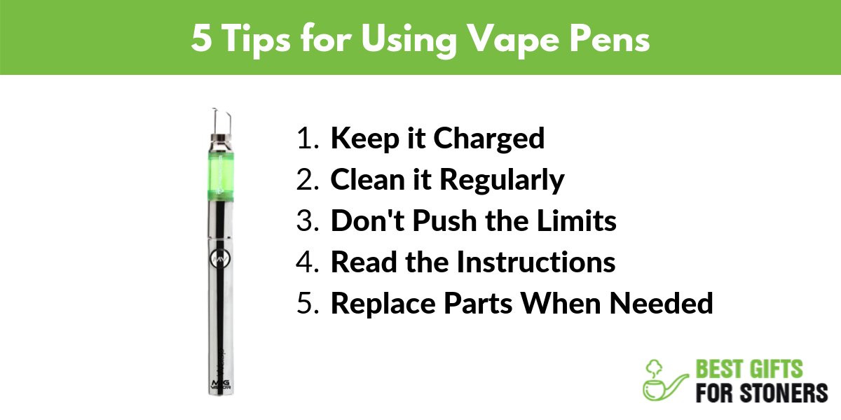 5 Tips for Using Vape Pens - How to Use a Vape Pen