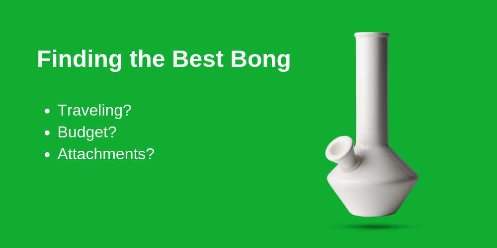 guide to finding the best bong for beginners