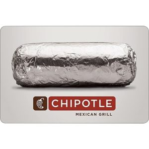 chipotle gift card stoner gifts 2019