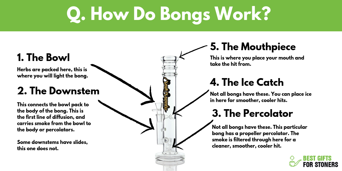 frequently asked questions about bongs how do bongs work
