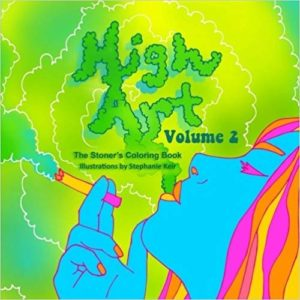 high art coloring book 420 gift