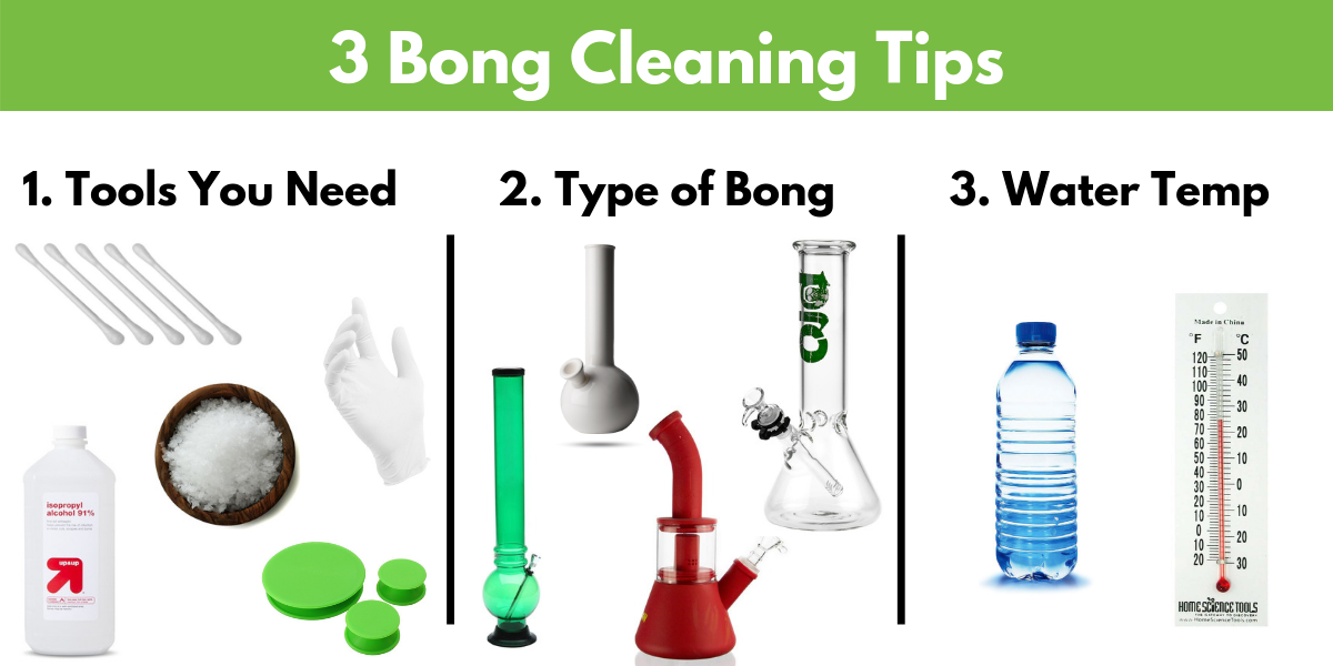 3 bong cleaning tips