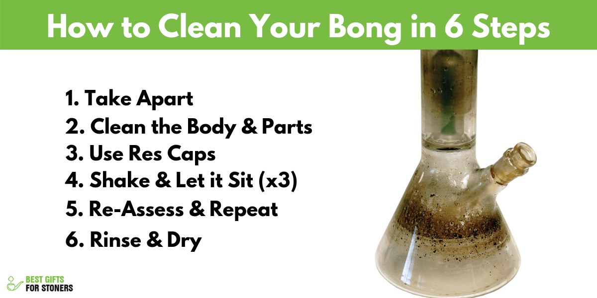 how to clean a bong in 7 tips