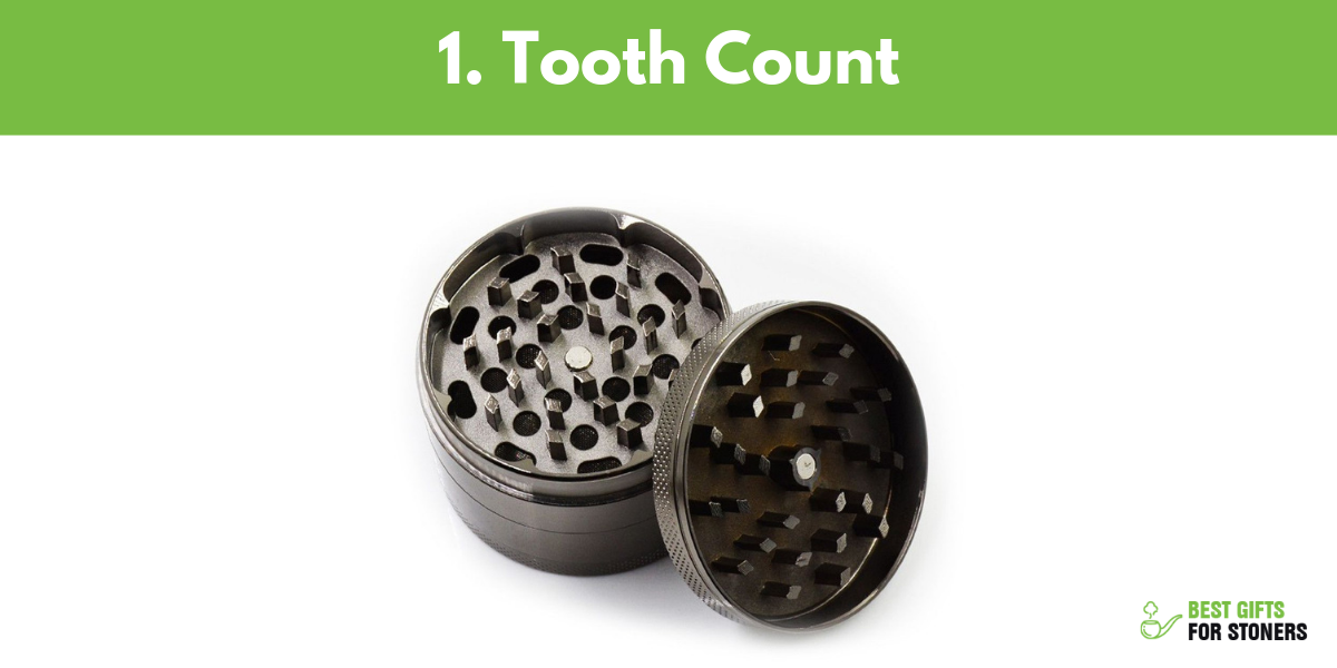 how to find the best weed grinder focus on teeth count