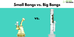small bongs vs big bongs guide