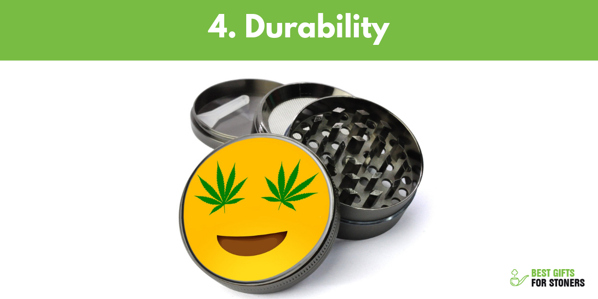 what is the best weed grinder focus on durability