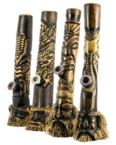 worlds coolest water pipes hand carved wooden bong from indonesia