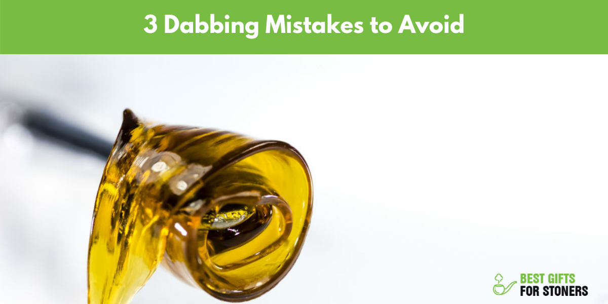 3 mistakes to avoid when heating your dab nail