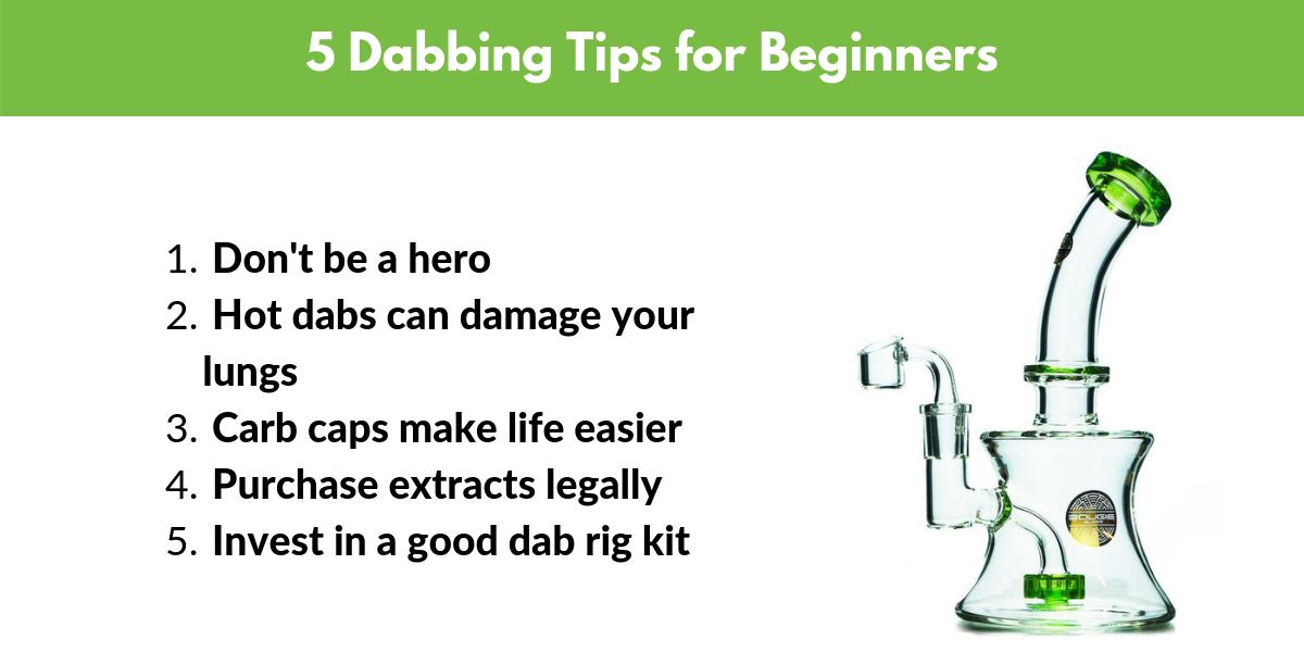 5 dabbing tips for beginners