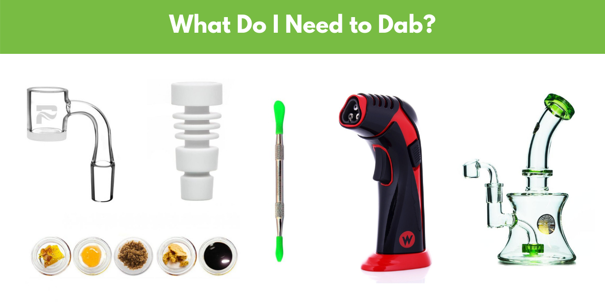 beginners guide to dabbing concentrates supplies needed