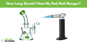how long should i heat my dab nail or quartz banger