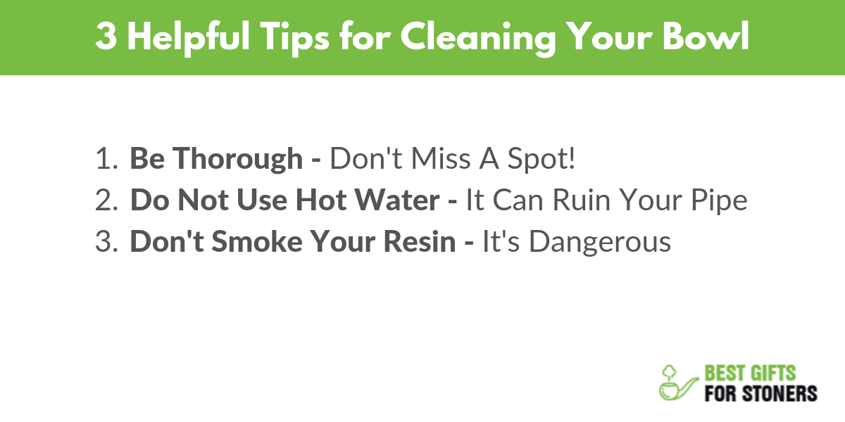 3 tips for how to clean your bowl