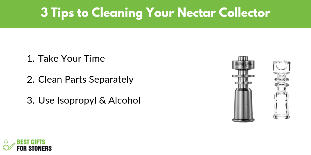 3 tips to cleaning your nectar collector