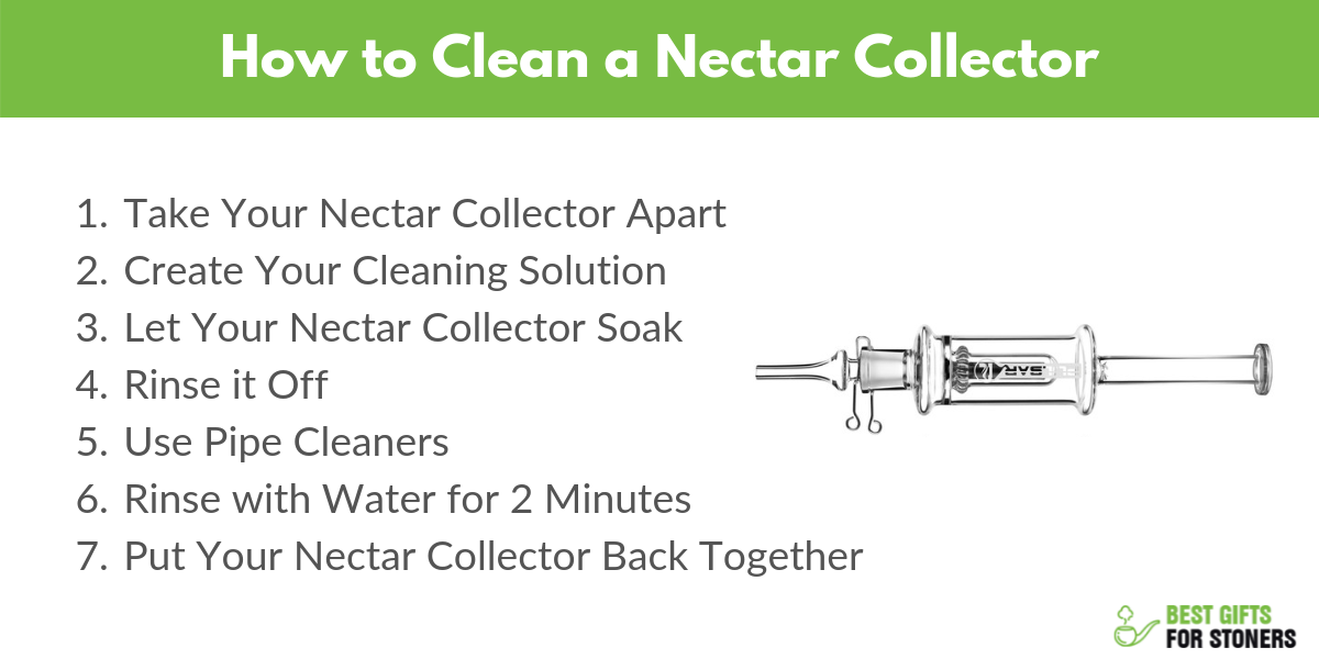 how to clean your nectar collector in 7 steps