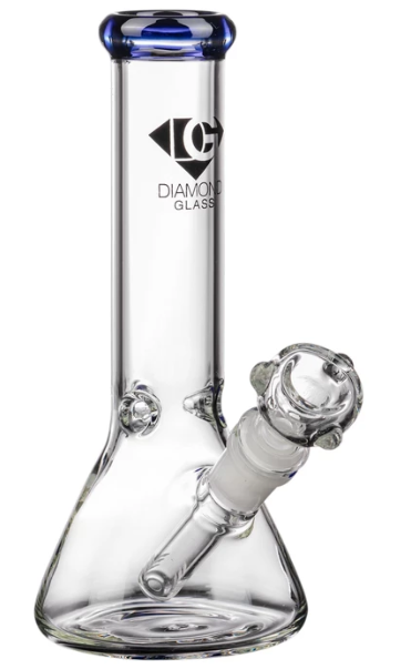 what is an ice bong - best ice bongs - diamond glass 8 inch beaker