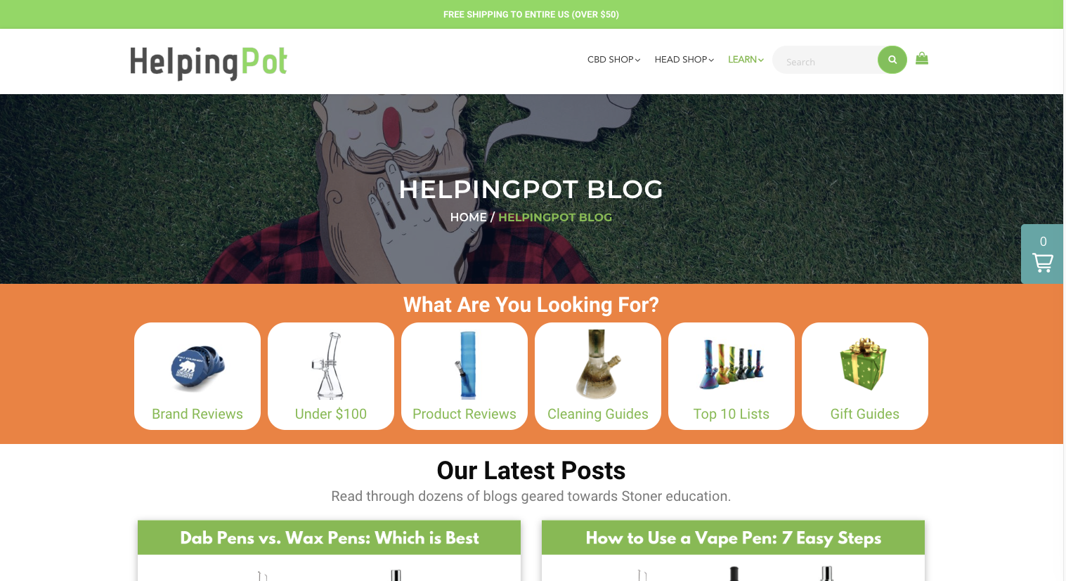 Helpingpot Blog
