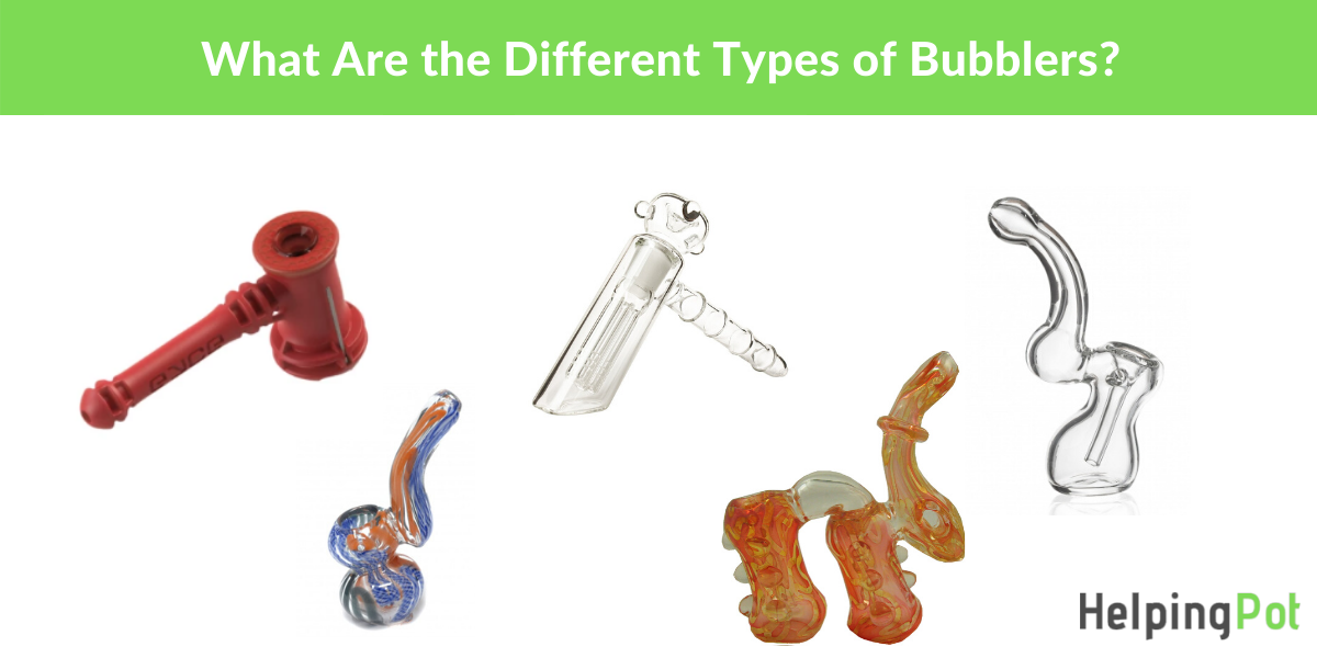 what are the different types of bubblers pipes