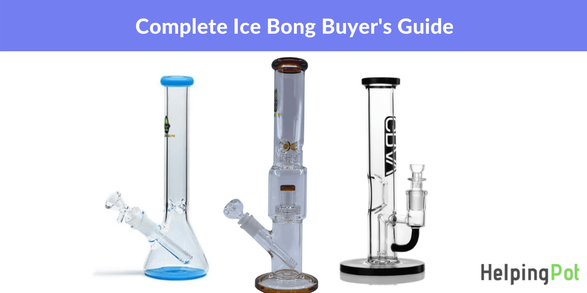 what is an ice catcher bong and how do they work - best ice bongs guide