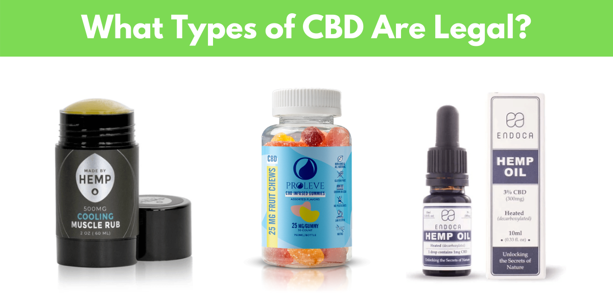 Types of CBD Products