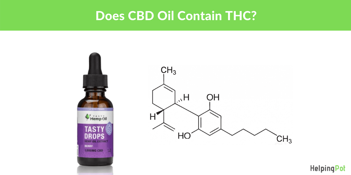 will cbd oil get you high - does it have THC